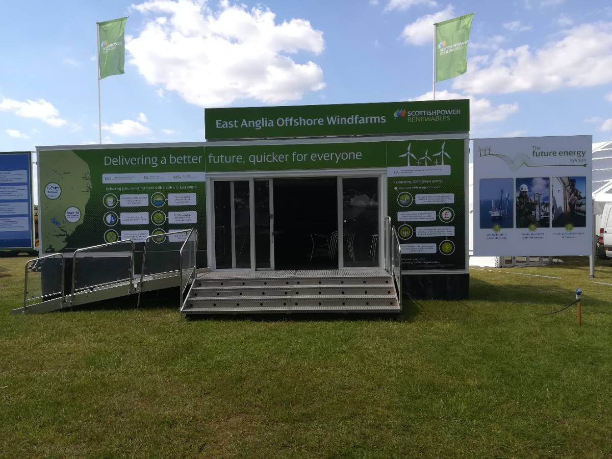 Scottish Power @ Suffolk Show 2019 - Exhibition Stands