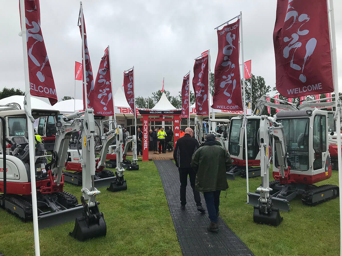 Takeuchi @ Plantworx 2019 - Exhibition Stands