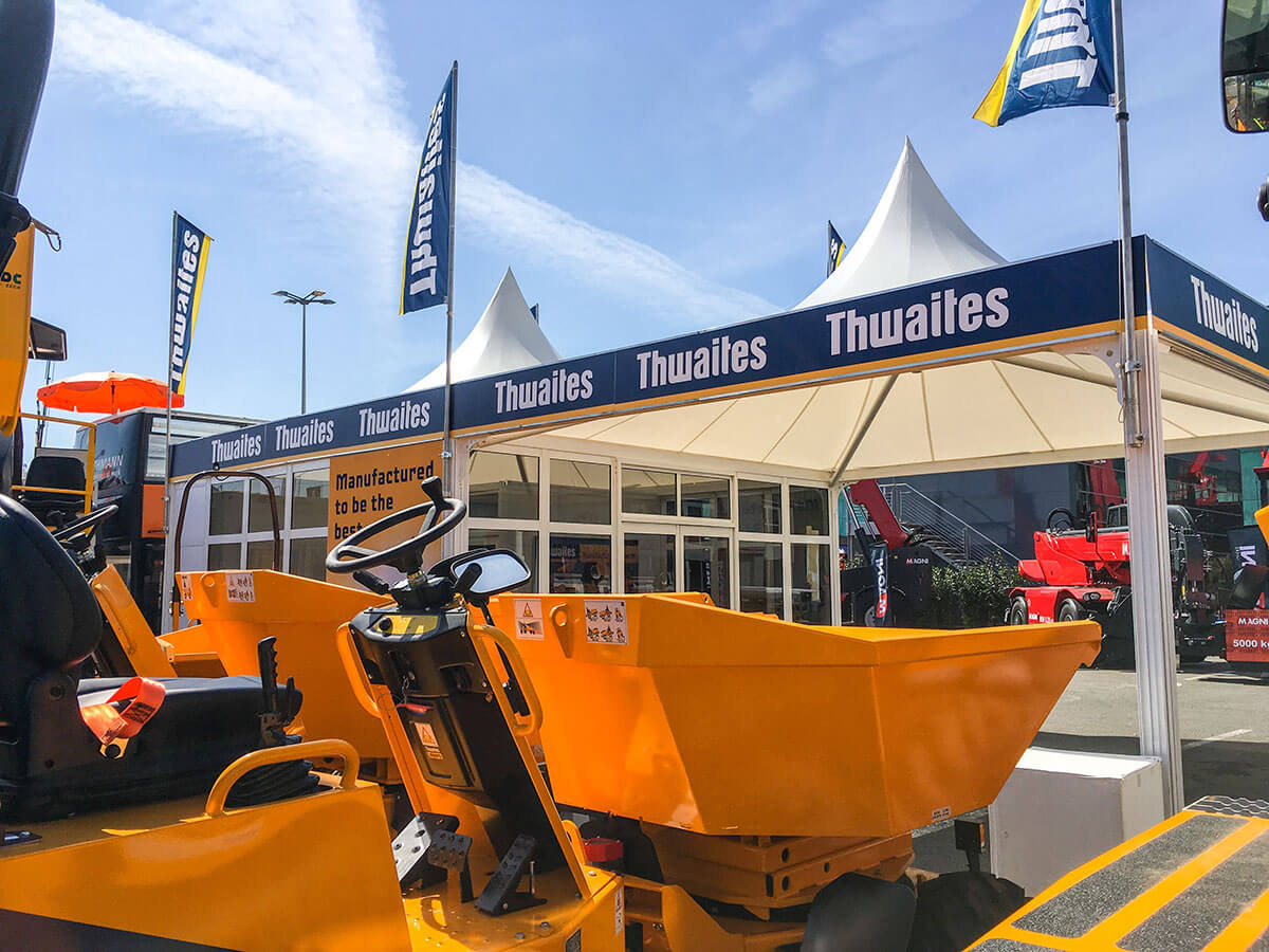 Thwaites @ Intermat 2018 - Exhibition Stands