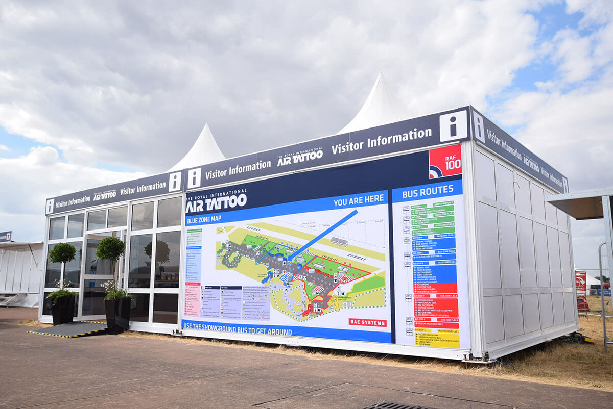 Visitor Information @ Fairford Air Tattoo 2018 - Exhibition Stands