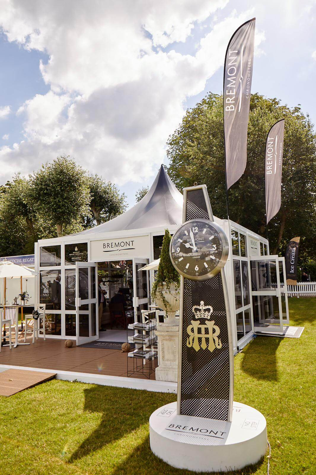 bremont watches henley 2019 - Exhibition Stands