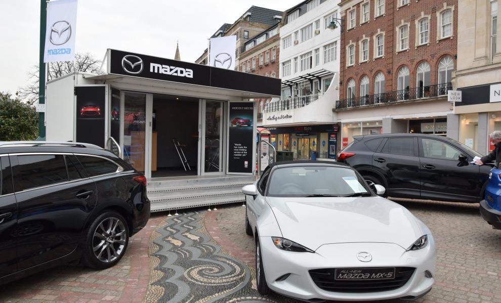 Mazda 1 - Exhibition Hire Trailer Services