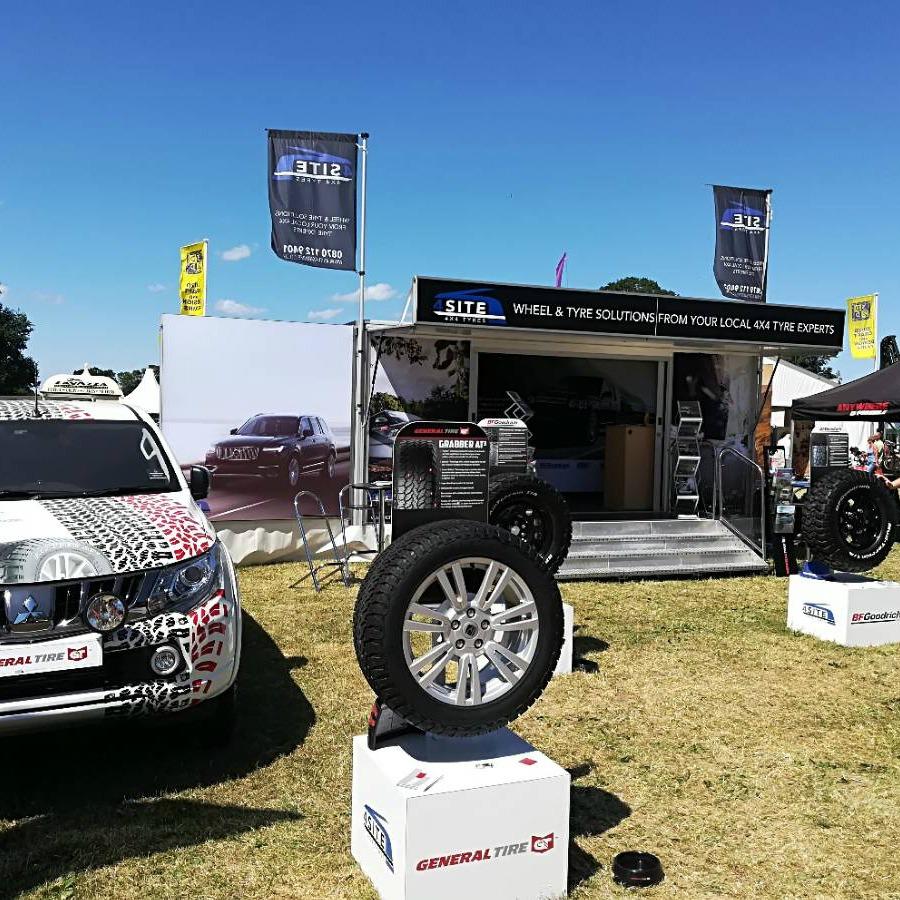 Southam Tyres @ Scottish Game Fair 2018 1 1 - Exhibition Hire Trailer Services