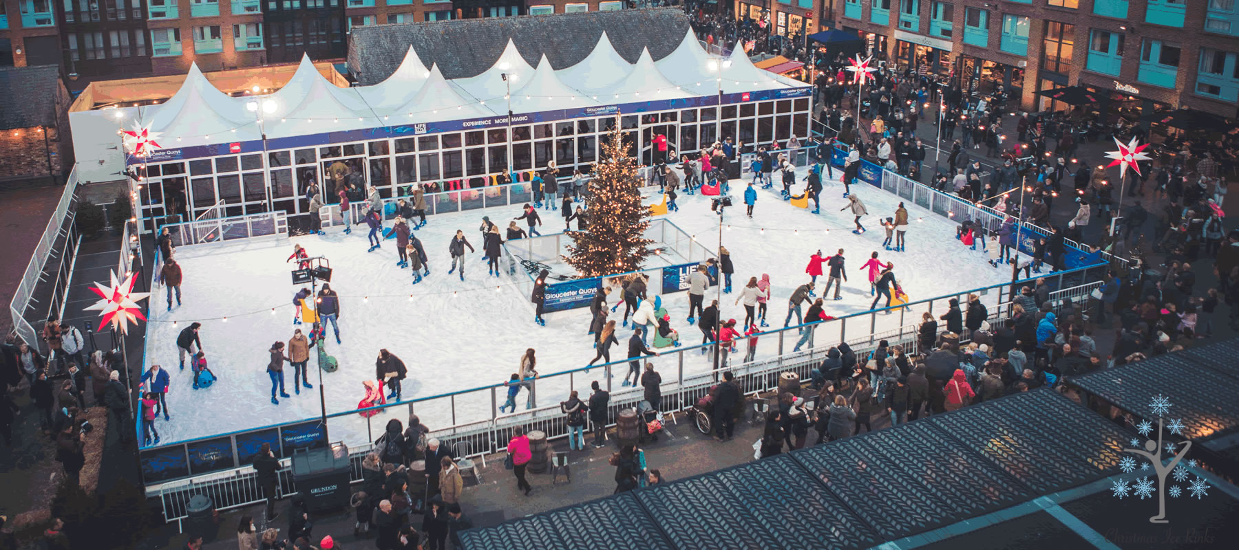 GQ homepage - Gloucester got its skates on for festive outdoor fun!