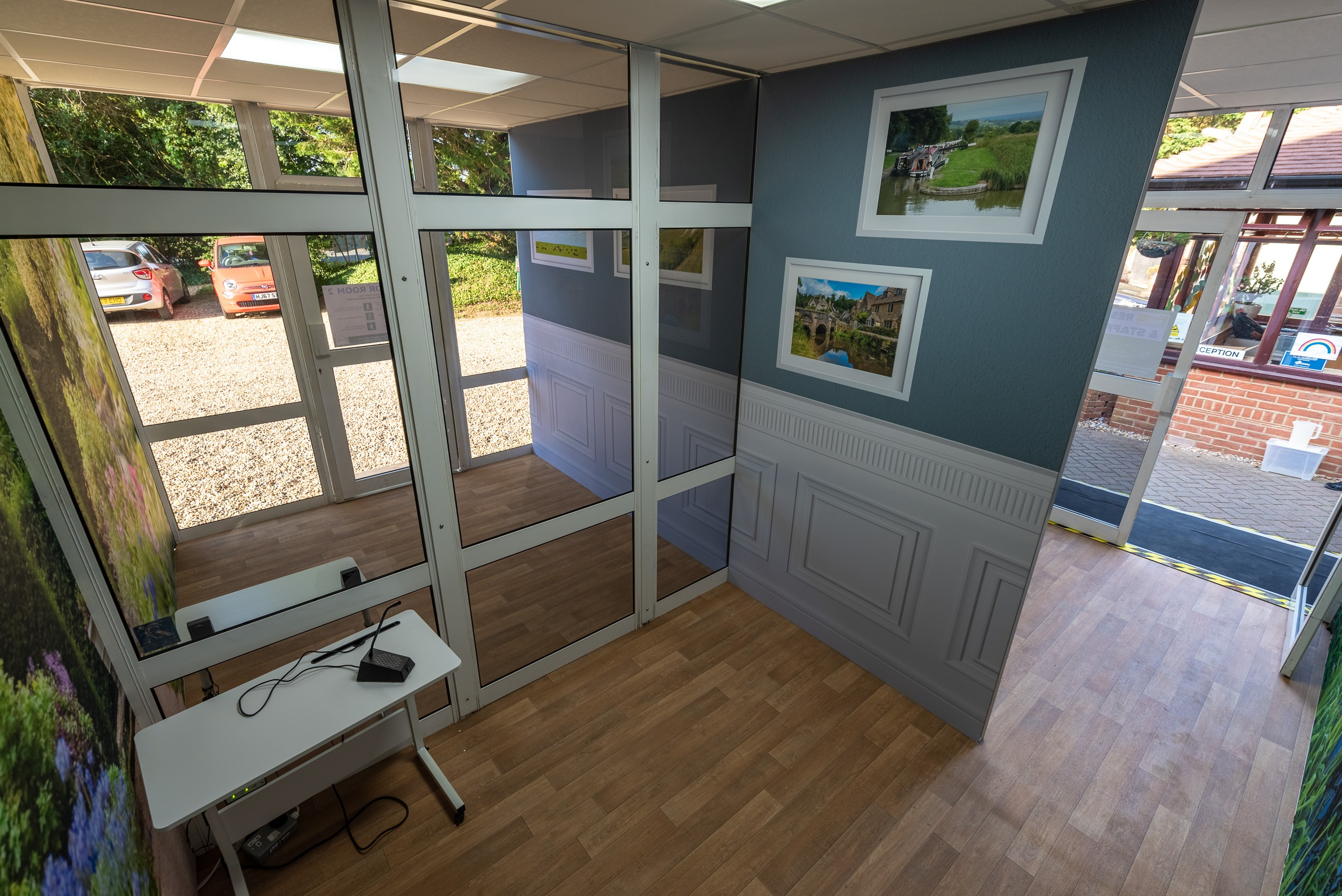 visiting pods for care homes