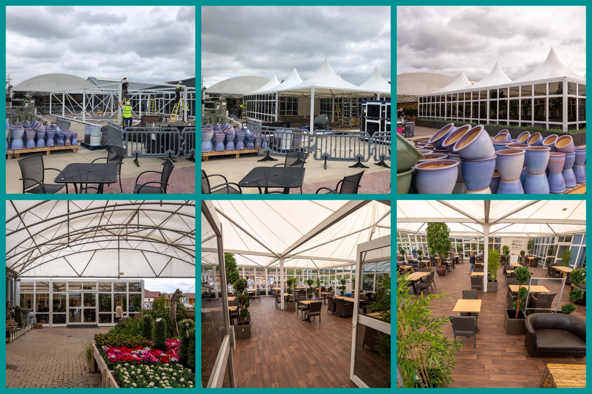 clifford garden centre build - Garden Centre Solutions