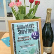 Exhibition Stand Award at Showmans Show