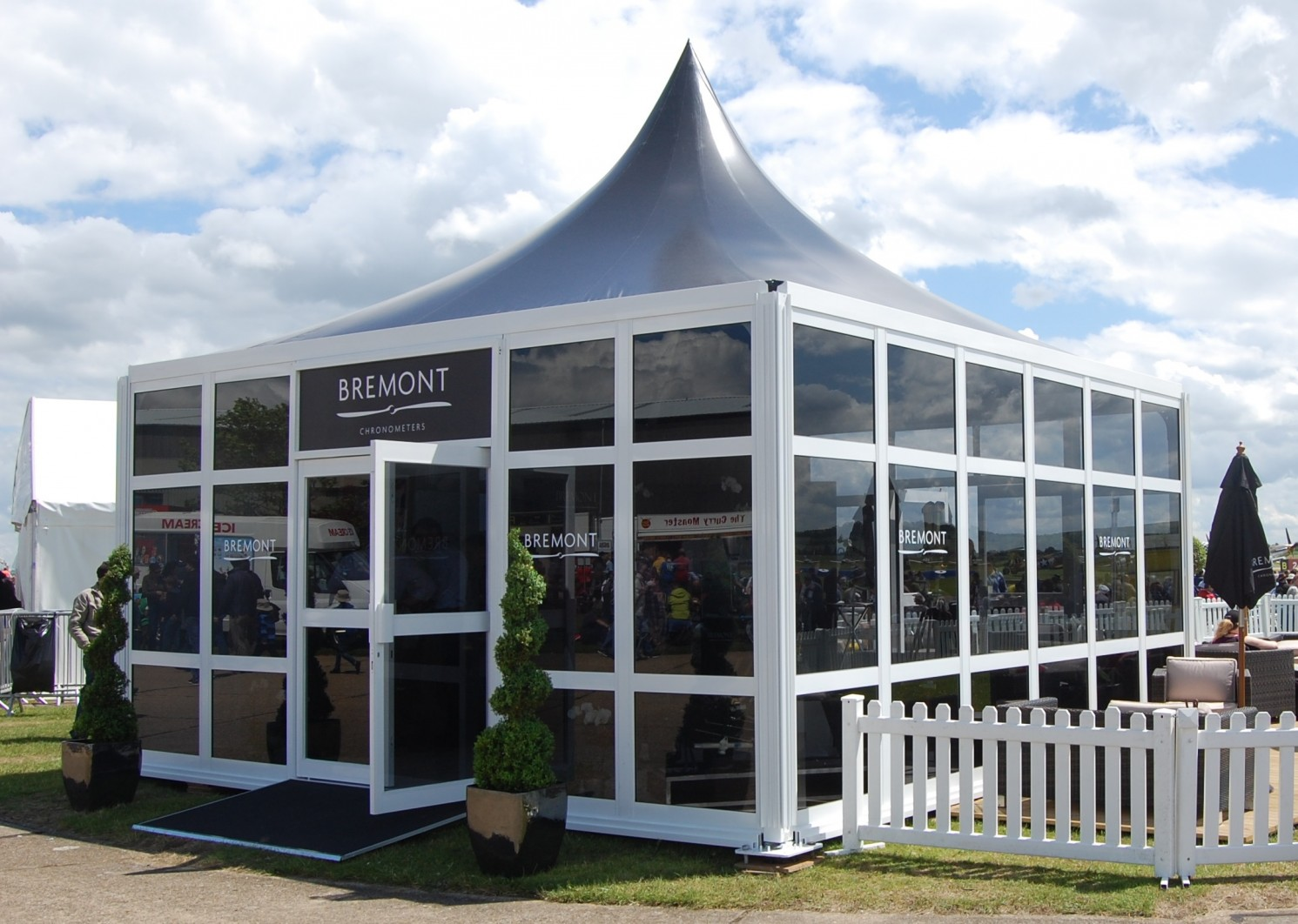 Exhibition Stand Outdoor : Exhibition marquees event