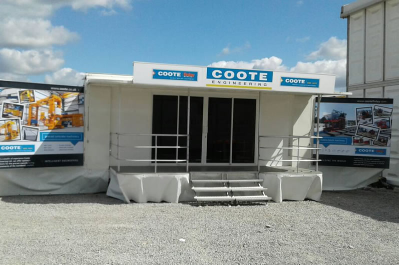 Coote Engineering Exhibition Trailer