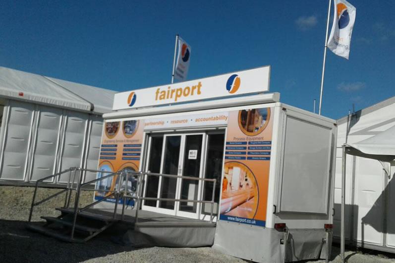 Fairport Engineering Exhibition Trailer