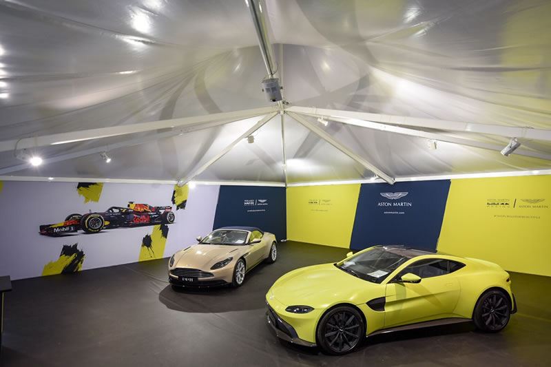 Aston Martin Event Structure