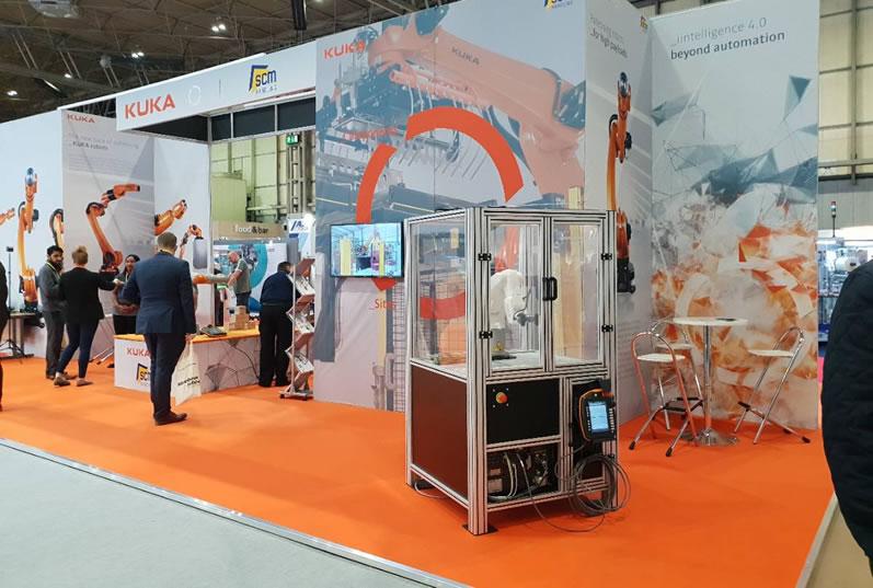 Kuka Robotics Exhibition Stand