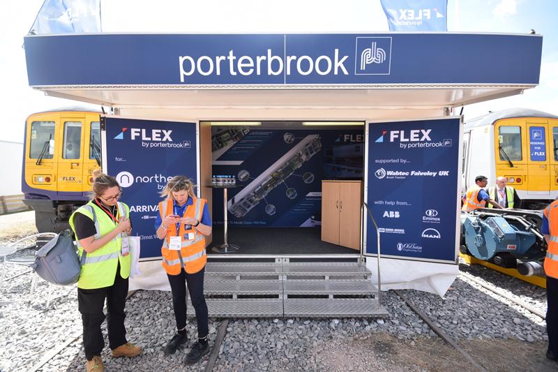 Porterbrook Exhibition Trailer